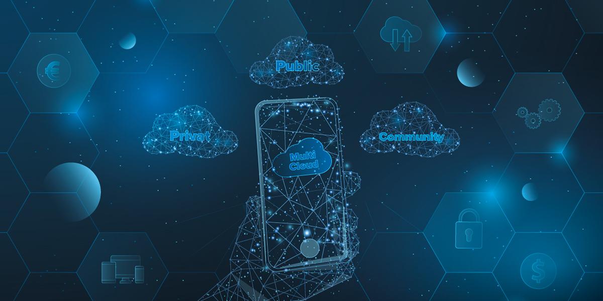 Multi-Cloud fasst mehrere Cloud-Dienste zusammen